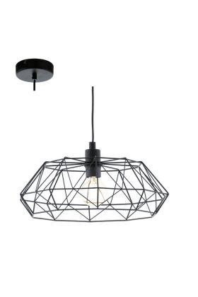Eglo Carlton 49487 hanglamp zwart