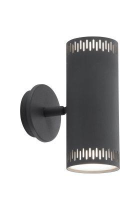 Brilliant Cavi G73192/22 wandlamp antraciet