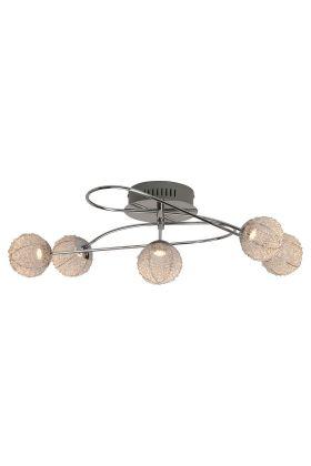 Brilliant Dajana G94343/77 plafondlamp chroom