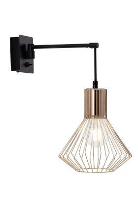 Brilliant Dalma 21090/76 wandlamp koper