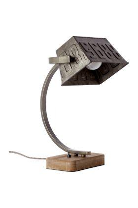 Brilliant Drake 99022/46 tafellamp staal
