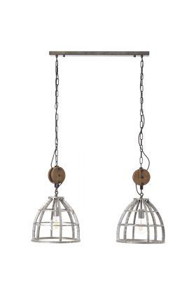 Brilliant Eduino 90928/43 hanglamp staal