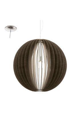 Eglo Cossano 94637 hanglamp bruin