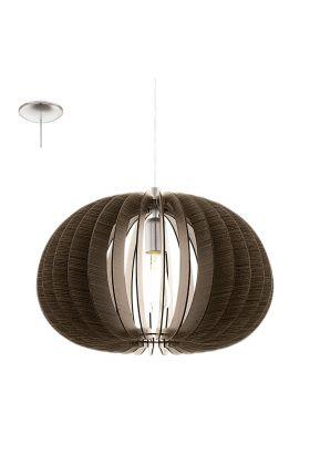 Eglo Cossano 94638 hanglamp bruin
