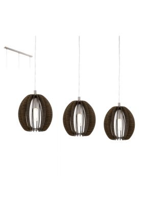 Eglo Cossano 94641 hanglamp bruin