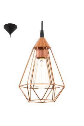 Eglo Tarbes 94193 hanglamp koper