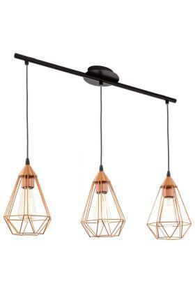 Eglo Tarbes 94195 hanglamp koper