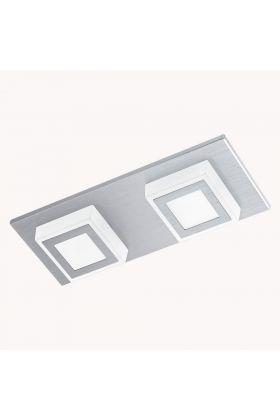 Eglo Masiano 94506 plafonnière aluminium