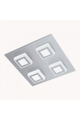Eglo Masiano 94508 plafonnière aluminium
