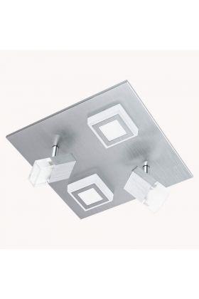 Eglo Masiano 94512 plafonnière aluminium