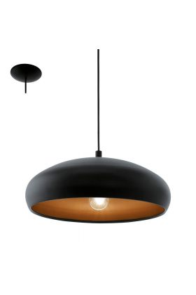 Eglo Mogano 94605 hanglamp zwart