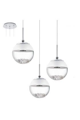 Hanglamp Eglo Montefio 93709 chroom