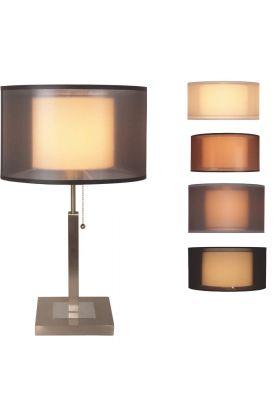 Freelight Piazzo T1217S tafellamp staal