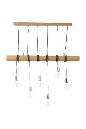 Brilliant Frihet 93745/45 hanglamp hout