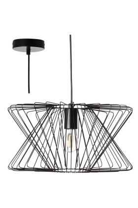 Hanglamp George Town zwart 40cm