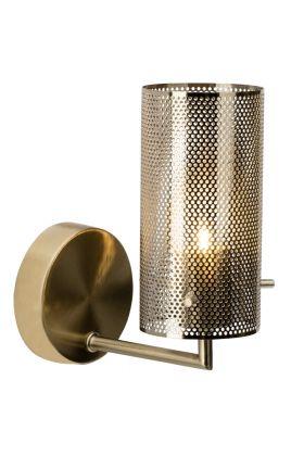 Brilliant Gracian 90060/18 wandlamp messing