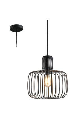 Hanglamp Costola H3655Z zwart 55cm