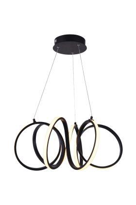 Freelight Raffinato H1350Z hanglamp zwart