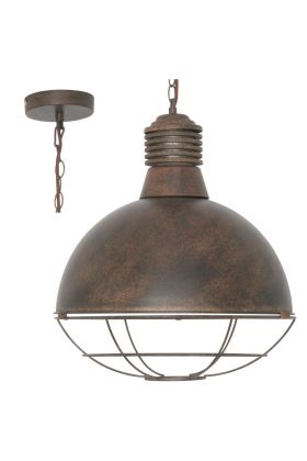 Freelight Vicenza H2450R hanglamp roest