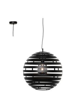 Hanglamp Nettuno H4340Z zwart 40cm