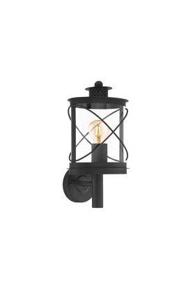 Eglo Hilburn 94842 wandlamp zwart
