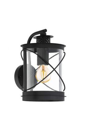 Eglo Hilburn 94843 wandlamp zwart