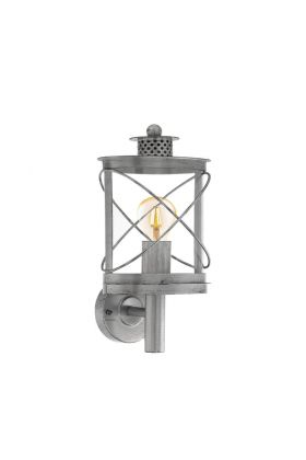 Eglo Hilburn 94865 wandlamp zilver