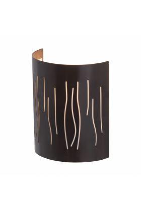 Brilliant Kinley 93461/20 wandlamp zwart