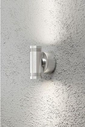 Konstsmide Monza 7929-310 wandlamp aluminium