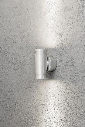 Konstsmide Monza 7930-310 wandlamp aluminium
