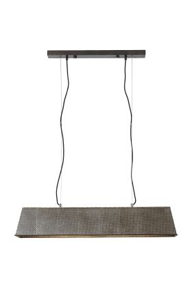 Brilliant Lazar 93335/46 hanglamp staal