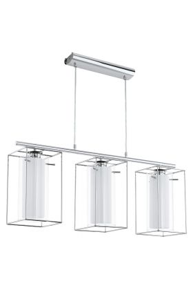 Eglo Loncino 94378 hanglamp chroom