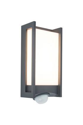 Sensorlamp Qubo antraciet 27cm