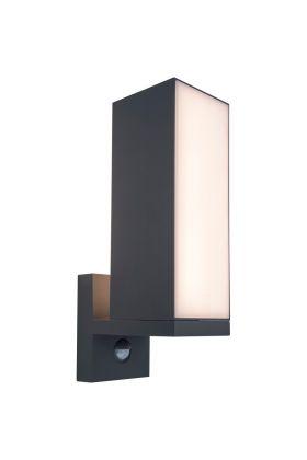 Sensorlamp Cuba antraciet 31cm
