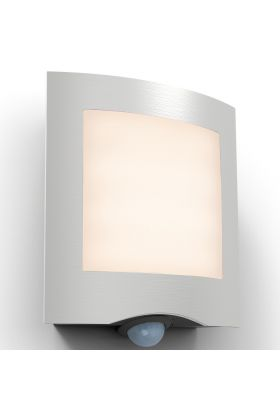 Sensorlamp Farell staal 24cm