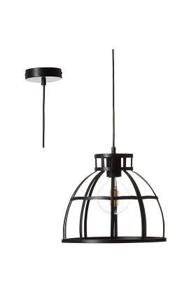 Brilliant Magda 93772/06 hanglamp zwart