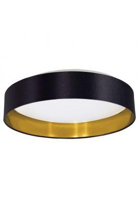 Plafonnière Eglo Maserlo 31622 41cm zwart goud