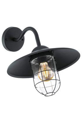 eglo Melgoa 94792 wandlamp zwart