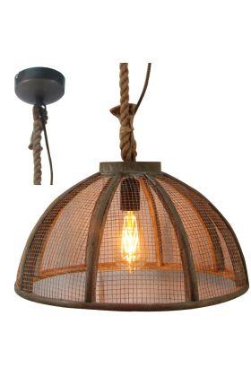 Brilliant Messy 93549/20 hanglamp bruin