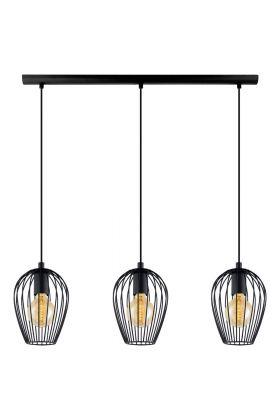 Eglo Newton 49478 hanglamp zwart