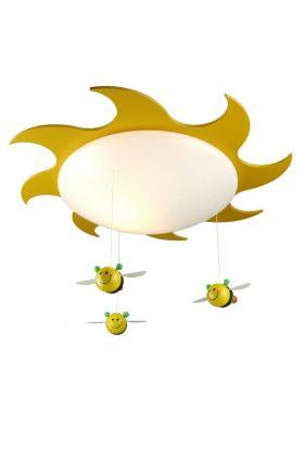 Niermann sumsum 631 plafondlamp geel