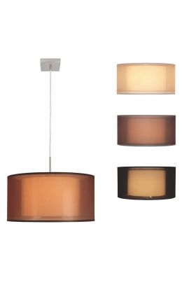 Freelight Organza H8011S hanglamp staal