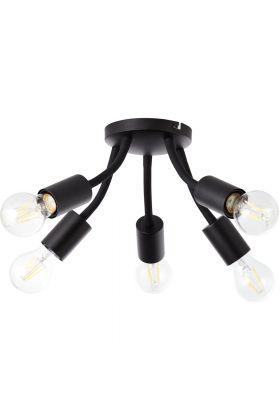 Plafondlamp Parker zwart 35cm