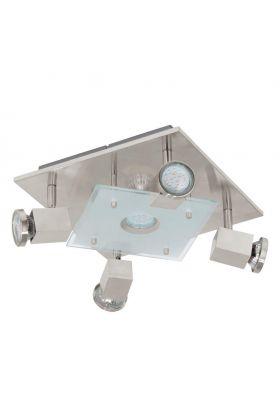 Eglo Pawedo 93084 LED spot nikkel