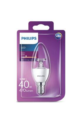 B35 E14 LED kaarslamp 5,5w (40w) 2700k