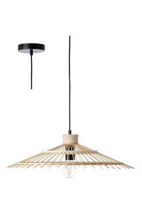 Hanglamp Pirae bamboe 58cm