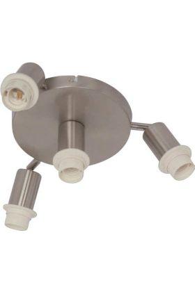 Freelight Senza PL1124 plafonnière staal