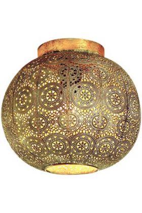 Plafondlamp Motivo witgoud 28cm