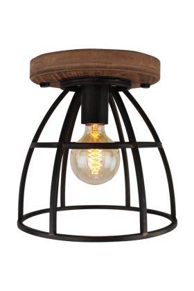 Freelight Birdie PL5925Z plafondlamp zwart