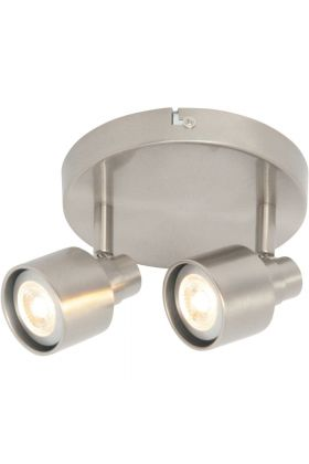 Freelight Triplo PL8902S spot staal